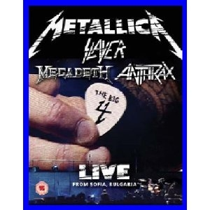 Картинка на THE BIG 4 (Metallica Slayer Megadeth Anthrax) Live from Sofia, Bulgaria [2 Blu-Ray]