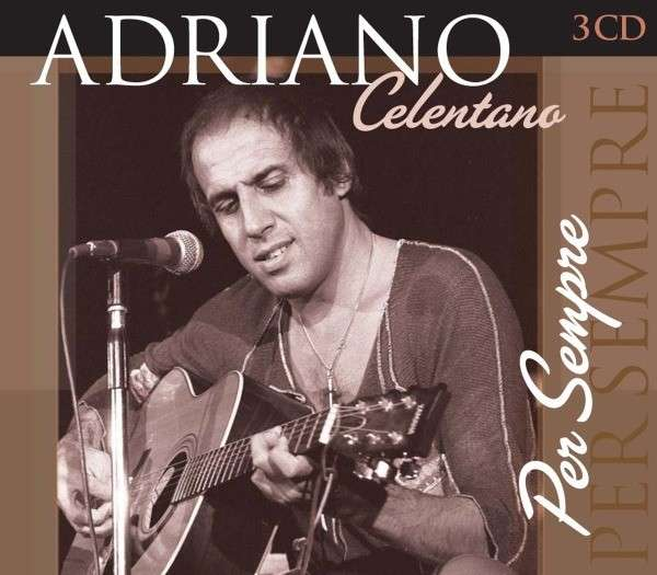 adriano celentano per sempre 3 cd box set. Black Bedroom Furniture Sets. Home Design Ideas