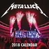 Картинка на Металика - стенен календар за 2018 година